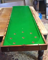 Pool Table Boardroom Table Restored Antique Bagatelle Table For Sale At Brown U0027s Antiques