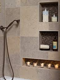 Bathroom Shower Niche Ideas by Earthy Bathroom Cheryl Kees Clendenon Hgtv