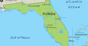 Tampa Florida Usa Map by Map Of Florida