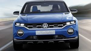volkswagen puebla vw t roc compact crossover set for 2019 launch in u s