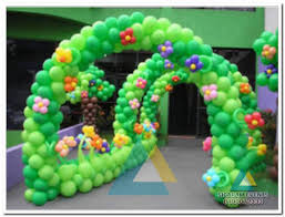 jungle theme birthday party birthday party entrance decorations in pondicherry birthday