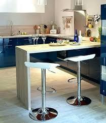 plan de travail bar cuisine et table en bois pose lzzy co