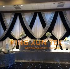 Wedding Backdrop Curtains For Sale Black And Silver Curtains Online Black And Silver Curtains For Sale