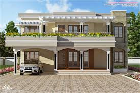 Kerala Home Design Flat Roof Elevation by New Home Design Australia On Home Design New Design Ideas