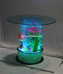 led lighting dancing water bubbles coffee table aquarium buy