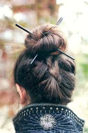 hair plait with chopstick chopstick hairstyles chopsticks hair style and reverse braid
