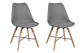 eames style chair 3x 59 check out these set of two stunning dansk chairs in grey
