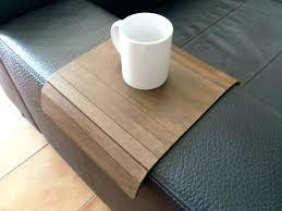 plateau de canapé tablette pour canape plateau pour canape accessoires canapac noir