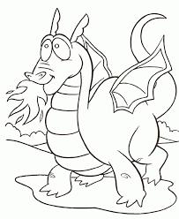 dragon print coloring home