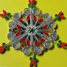 481 best quilled snowflakes and ornaments images on