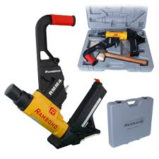 Hardwood Floor Gun Flooring Nailers Nail Guns Pneumatic Staple Guns The Home Depot