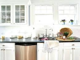 Kitchen Backsplash With White Cabinets White Glass Backsplash Kitchen Modern Glass Kitchen Tile Ideas