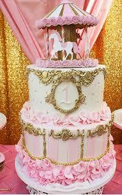 carousel cake topper 3d carousel cake topper or centerpiece carousel cake carousel