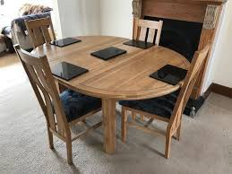 solid oak table with 6 chairs solid oak dining table with 6 chairs in chelmsford essex gumtree