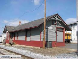 maryland railroad stations and depots