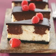 chocolate raspberry cheesecake recipe taste of home