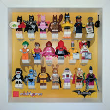 how to display your lego minifigures using ikea ribba frames