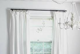 Discounted Curtains The Cheapest Diy Curtain Rods Ever Lovely Etc