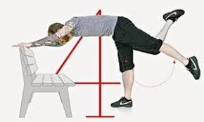 Leg Raise On Bench The Park Bench Workout Five Simple Exercises Life And Style