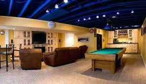 basement ceiling ideas modern basement ceiling ideas wood