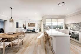 cuisine ouverte sur salle à manger salon salle manger cuisine ouverte photos de design d intérieur et