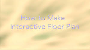 how to make interactive floor plan youtube