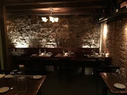 the cozy dining room at the black trumpet bistro picture of