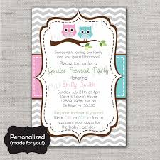 gender reveal invitation gender reveal invite gender shower invite