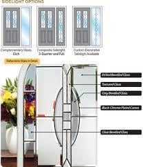 composite door glass reflectionscloseup png