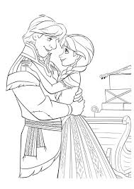 film frozen coloring pages kristoff and anna frozen coloring