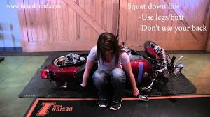 Design By Yourself by How To Pick Up A Motorcycle By Yourself How To Pick Up A Harley