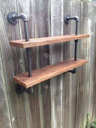 Galvanized Pipe Shelving by 1000 Ideas About Gas Pipe On Pinterest Pipe Shelves Industrial