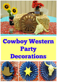 Cowboy Western Party Decorations events to CELEBRATE