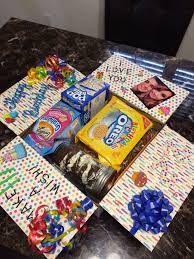 birthday care packages best 25 birthday care packages ideas on boyfriend