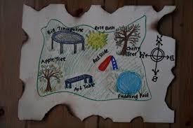 Hunt Maps Diy Pirate Map And Treasure Hunt Games The Imagination Tree