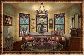 Victorian Dining Room Furniture Victorian Dining Room By Ookamikasumi On Deviantart