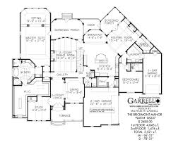 Two Floor House Plans by Brickmont Manor House Plan Estate Size House Plans