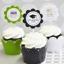 personalized cupcake toppers personalized graduation cupcake wrappers cupcake toppers set of 24