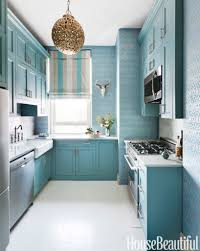 modern home interior design blue kitchen paint colors pictures