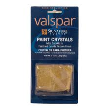 shop valspar signature colors 1 oz interior granite crystals at