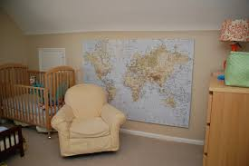 Vintage World Map Canvas by