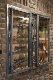 in wall gun cabinet gun cabinet by paul silva boomstick pinterest guns metals and