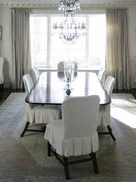 dining room slipcovers slipcovers dining chair with theme color white pertaining to