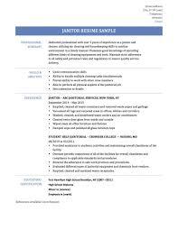 resume templates janitorial supervisor memeachu superbnitorial resume professionalnitor sle church custodian