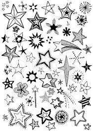 25 star doodle ideas