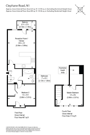 floor plan area calculator 2 bedroom property for sale in clephane road london n1 650 000