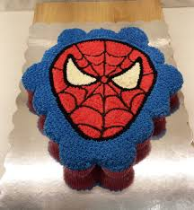 cupcake magnificent batman cake with cupcakes spiderman cupcake