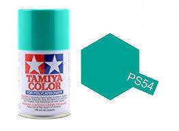 tamiya spray paint ps 54 cobalt green acrylic paints 100ml