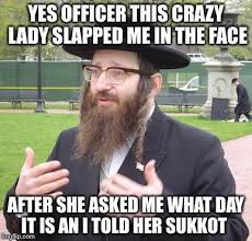Crazy Lady Meme - officer this crazy lady slapped me in the face after she asked me