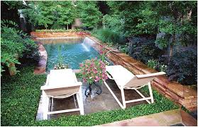 backyards chic this compact low maintenance backyard designed by